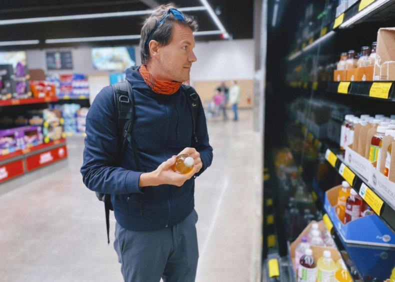 How can I stay safe while grocery shopping?