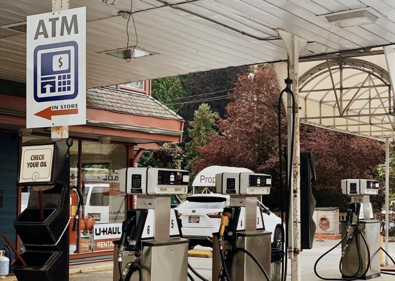 How can I stay safe while getting gas?