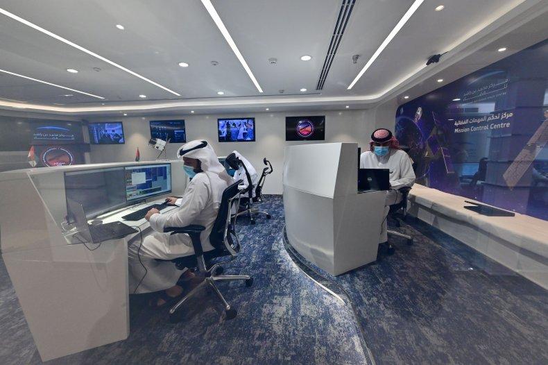 The Emirates Mars Mission control center
