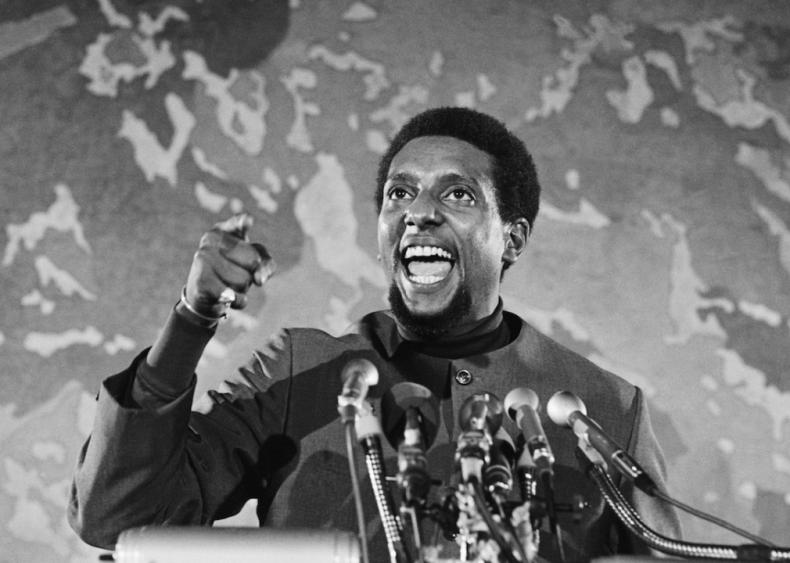 1966: Stokely Carmichael promotes 'Black power'