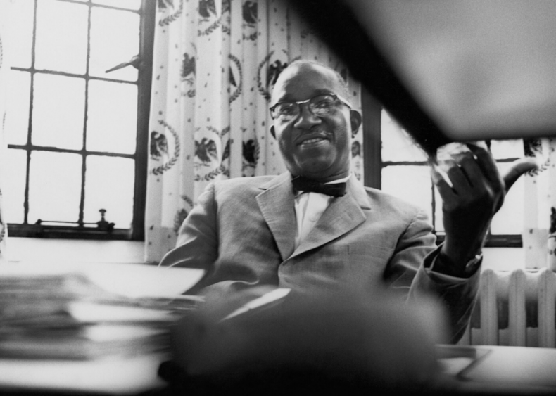 1975: John Hope Franklin is selected as president of the Organization of American Historians