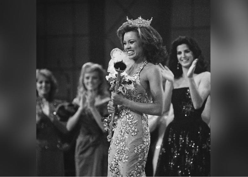 1983: Vanessa Williams is crowned Miss America