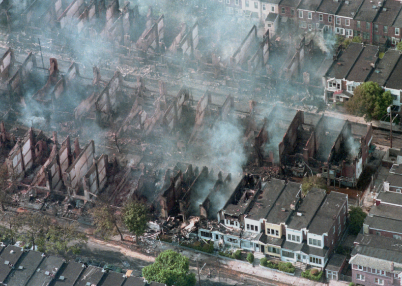 1985: MOVE Black Liberation House is bombed