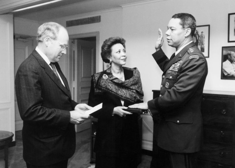 1989: Colin Powell becomes chairman of the Joint Chiefs of Staff
