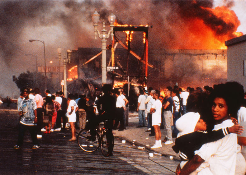 1992: Rodney King beating ignites the L.A. Riots