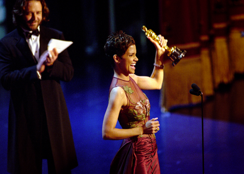 2002: Halle Berry wins Academy Award for 'Monster's Ball'