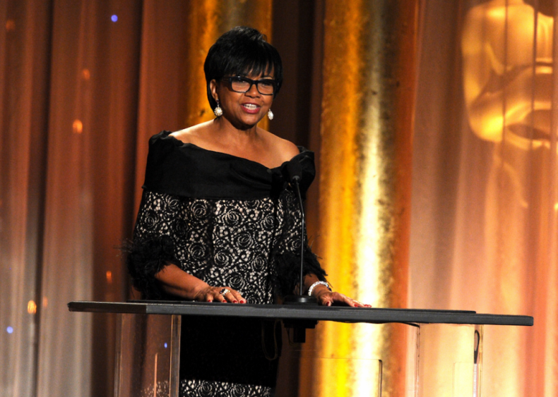 2013: Cheryl Boone Isaacs is elected president of Academy of Motion Picture Arts and Sciences