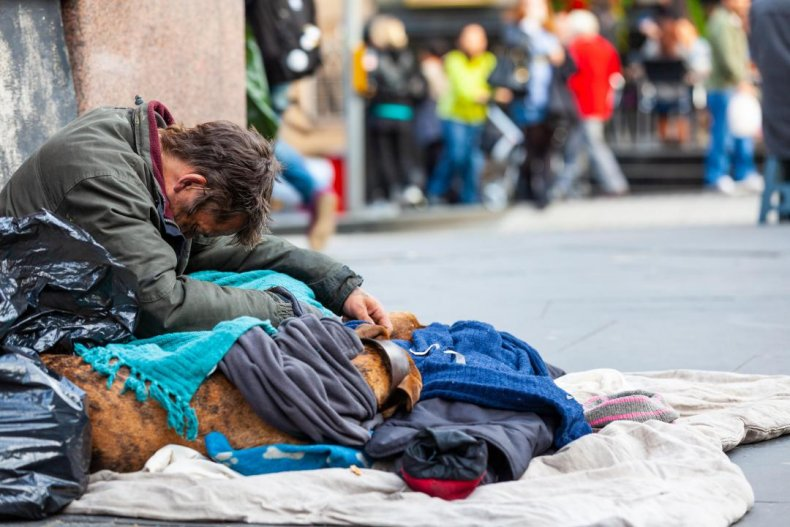 Homeless people: 567,715