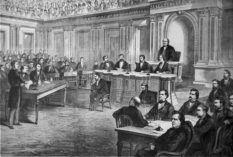 Andrew Johnson Senate trial