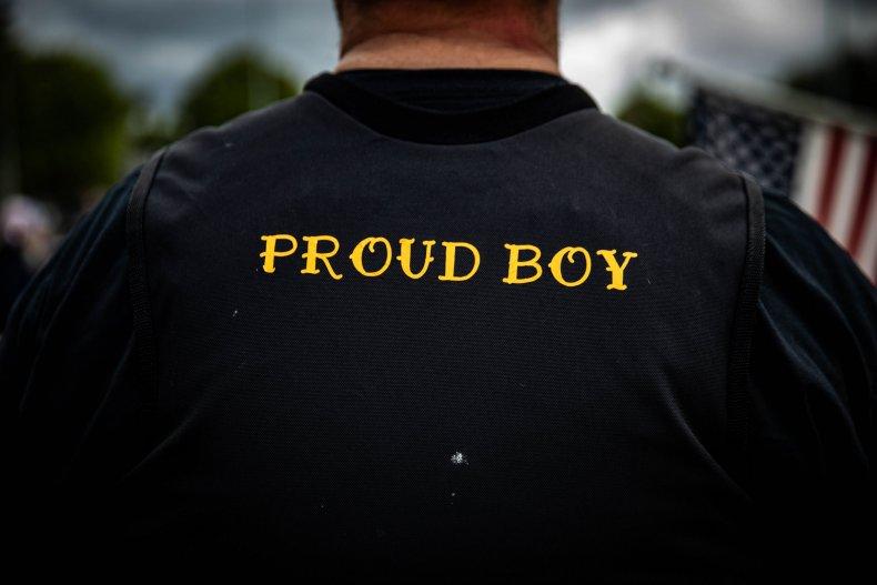 Proud Boy Capitol Insurrection Riot Donald Trump