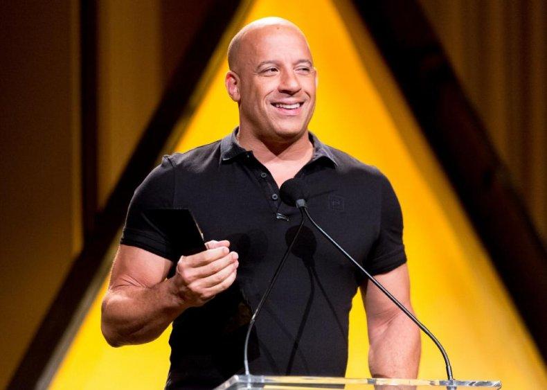 #29. Vin Diesel