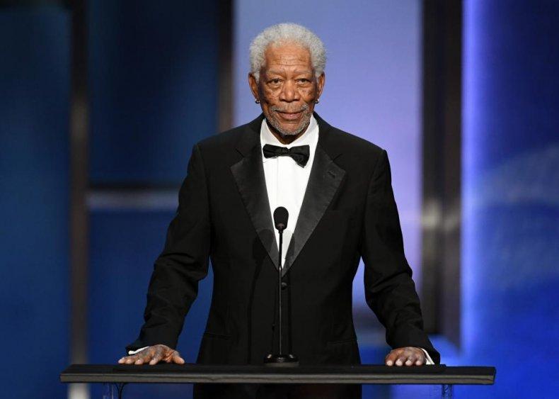 #10. Morgan Freeman