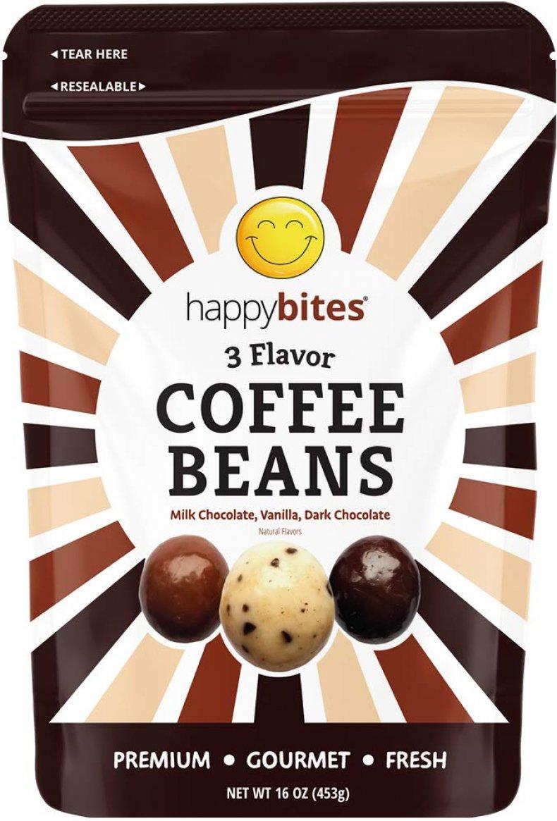 Happy bites coffee beans