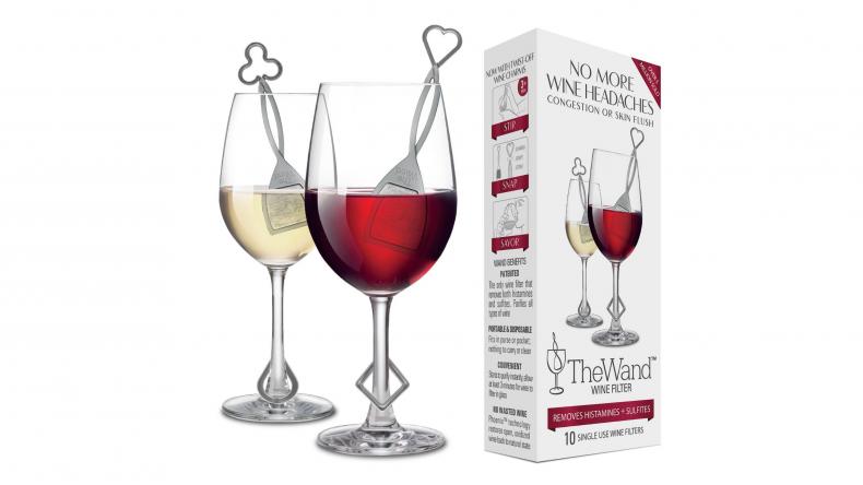 purewine wine wand hangover