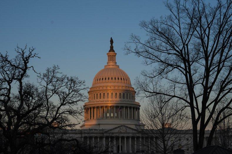 Exterior of U.S. Capitol Building in Washington