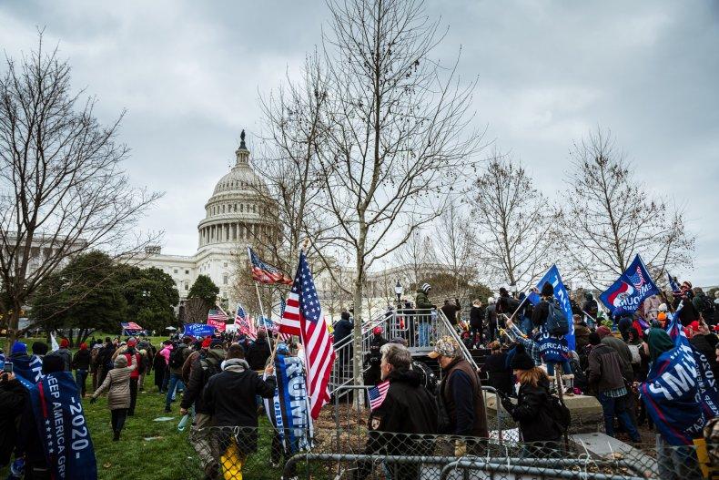Pro-Trump protesters storm Capitol