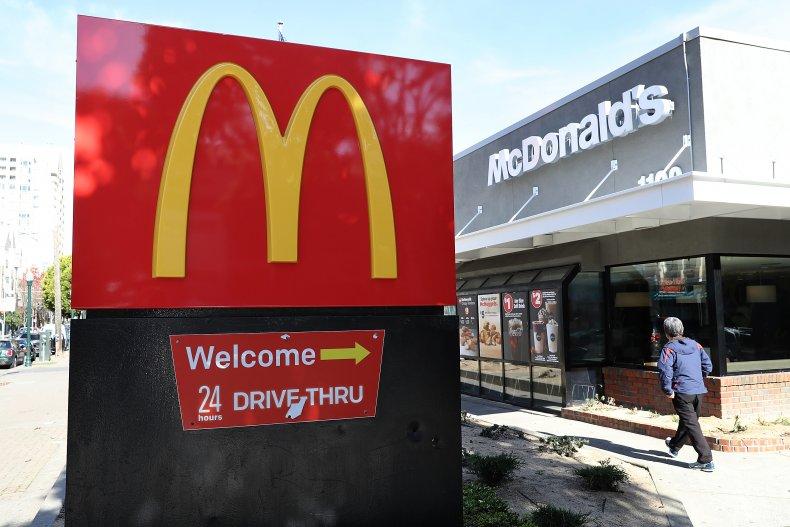 McDonald's branch in San Francisco