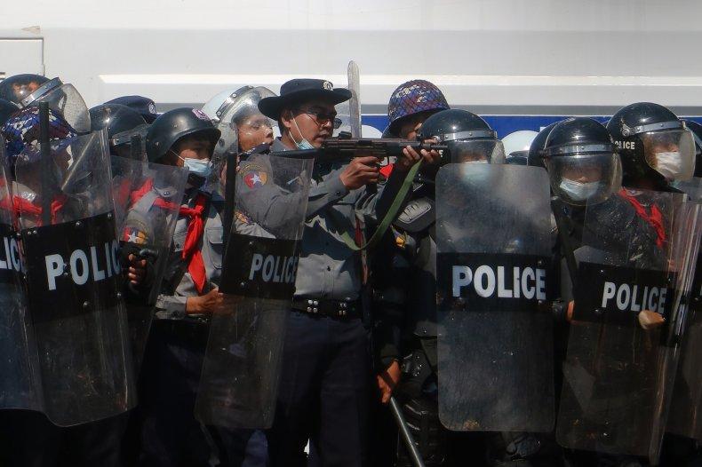 Protests Myanmar