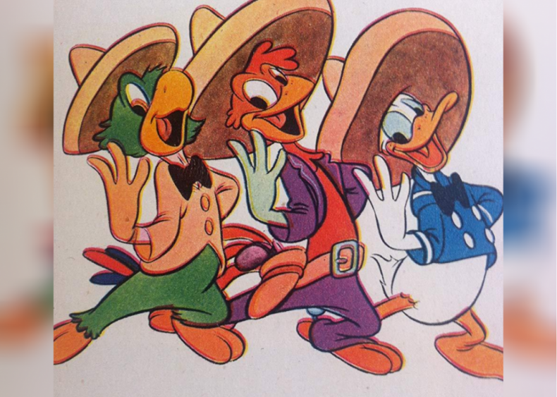 #48. The Three Caballeros (1945)