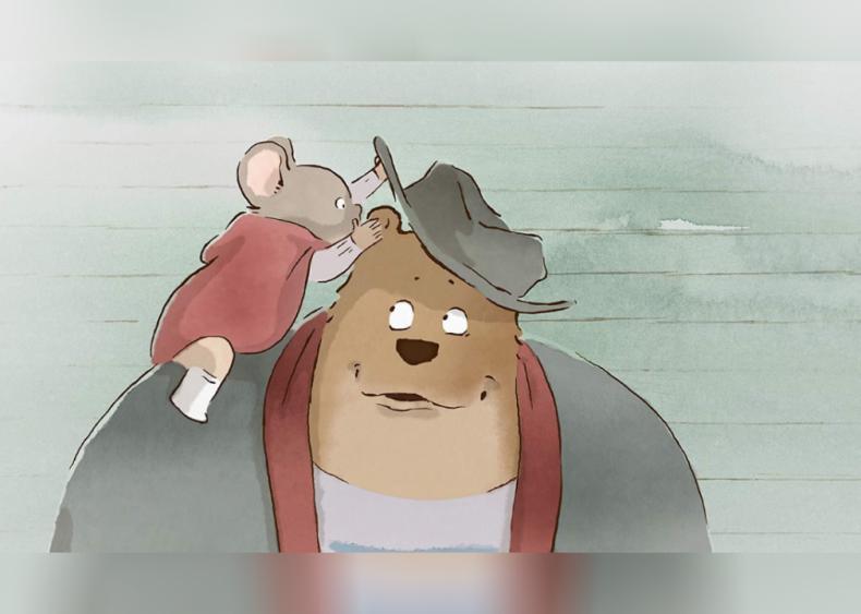#42. Ernest & Célestine (2014)
