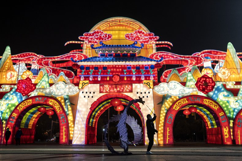 Wuhan, China, Chinese New Year 2021