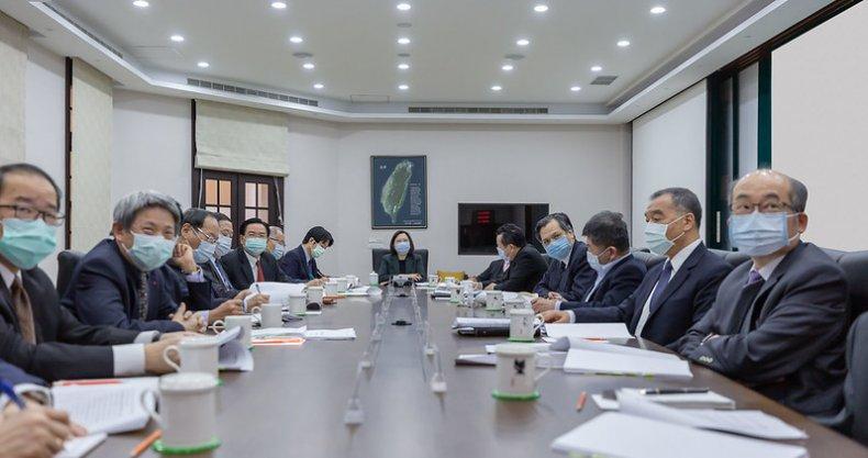 Tsai Ing-wen Convenes National Security Council