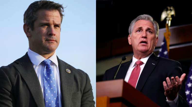 Adam Kinzinger and Kevin McCarthy