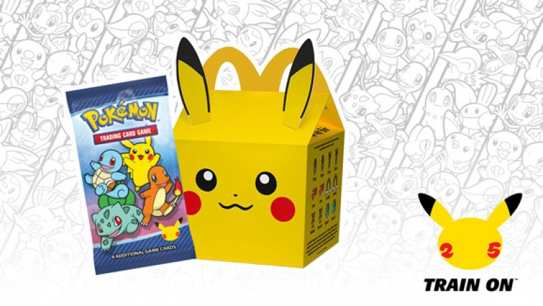 pokemon mcdonalds happy meal 25th anniversary