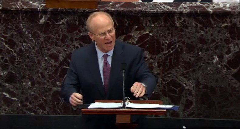 David Schoen opening argument Trump impeachment trial