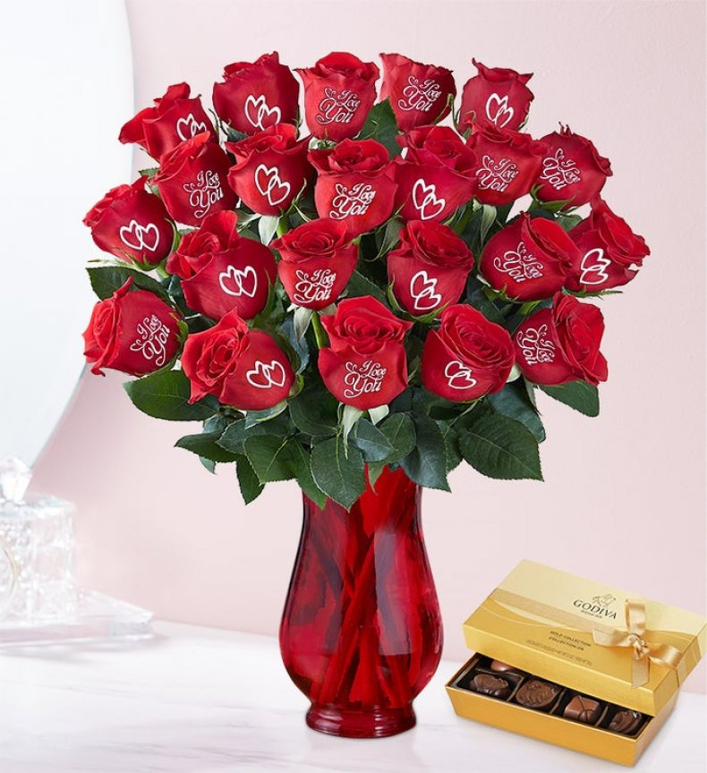 Valentine's Day Roses 1800Flowers