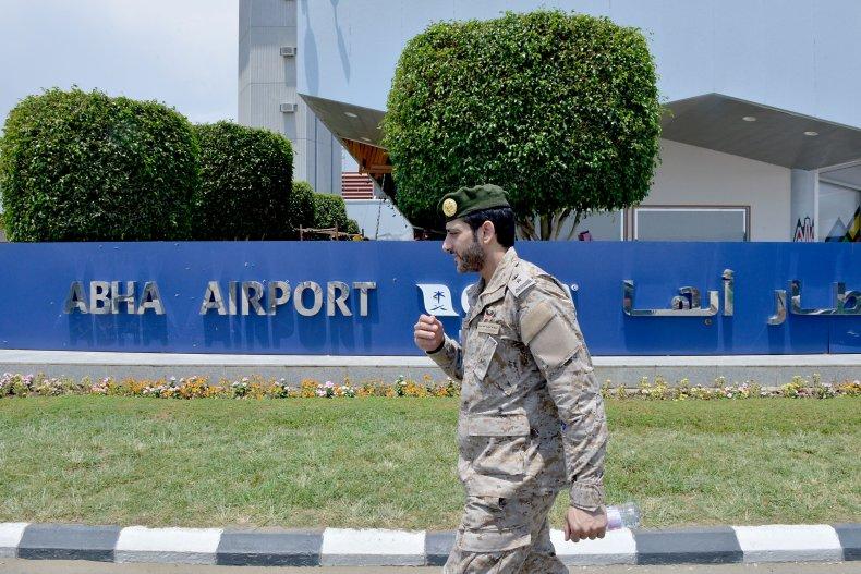Abha airport in Saudi Arabia Houthis Yemen