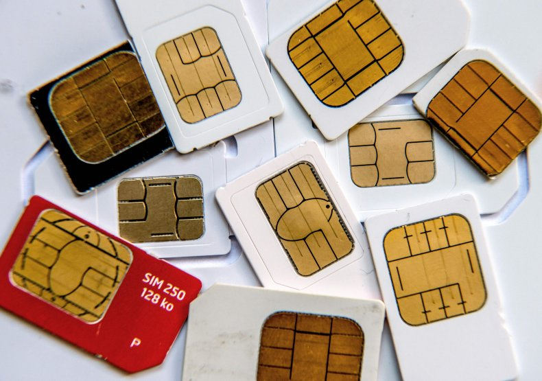 Cell phone sim cards