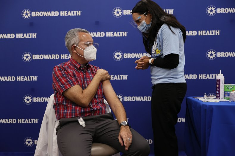Florida COVID-19 vaccination December 2020