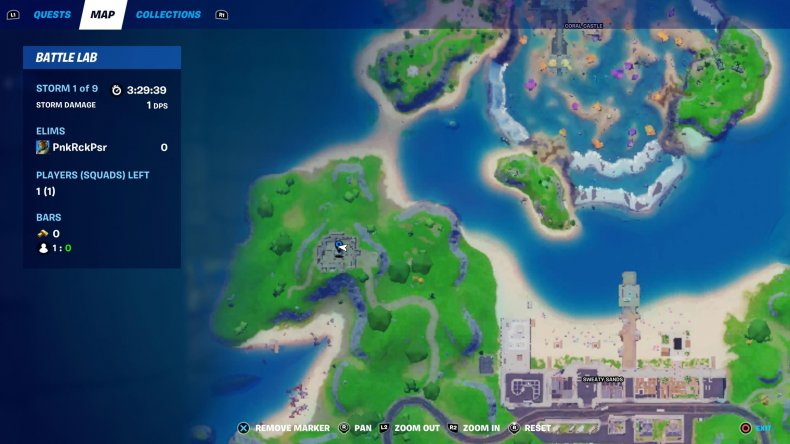 fortnite love potion locations collect 1 map