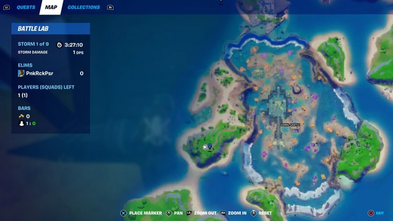 fortnite love potion locations collect 2 map