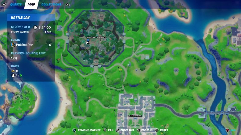 fortnite love potion locations collect 3 map