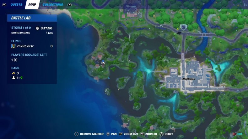 fortnite love potion locations deliver 2 map