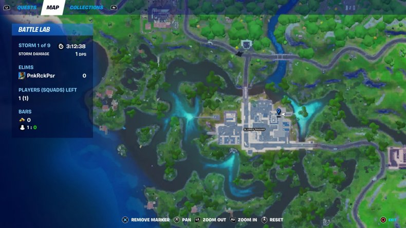 fortnite love potion locations deliver 1 map
