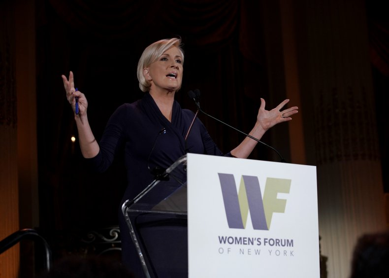Mika Brzezinski speaks onstage during The 9th