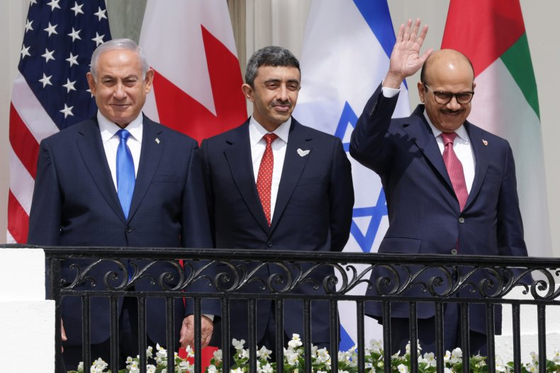Signing of the Abraham Accords in September