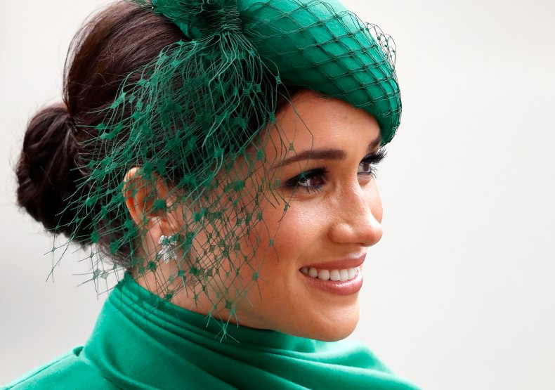 Meghan Markle in Green at Commonwealth Day