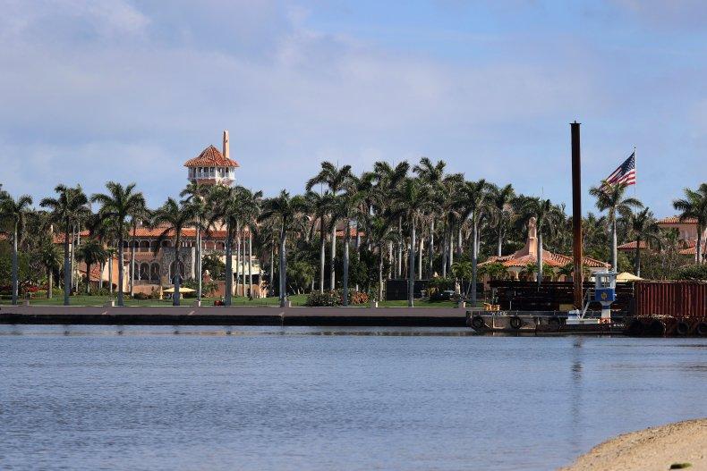 Former President Donald Trump's Mar-a-Lago resort is