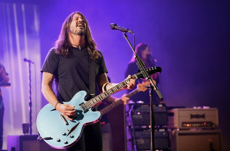 dave grohl foo fighters rock hall