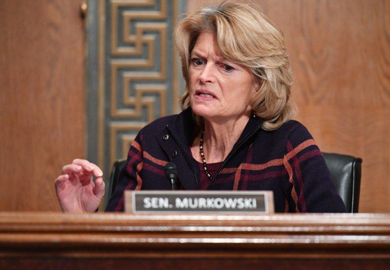 Lisa Murkowski Donald Trump Impeachment 2024 Senate