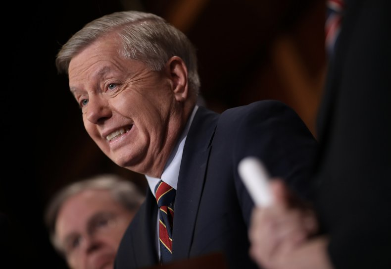 Lindsey Graham impeachment trial not guilty votes