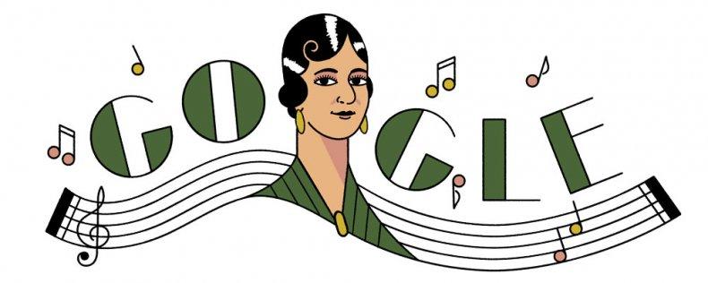 María Grever Google Doodle