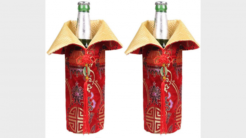 Cheongsam Wine Bags Champagne Bags
