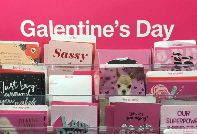Galentine's Day cards Target 2019