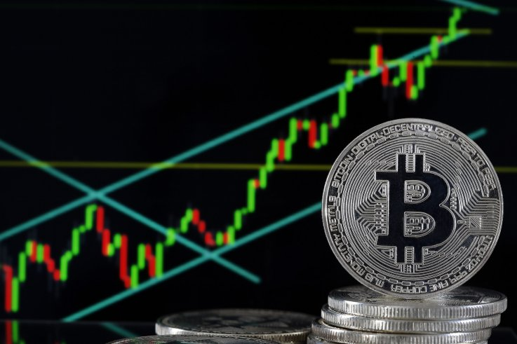 Bitcoin Investment Visual Representation Uber