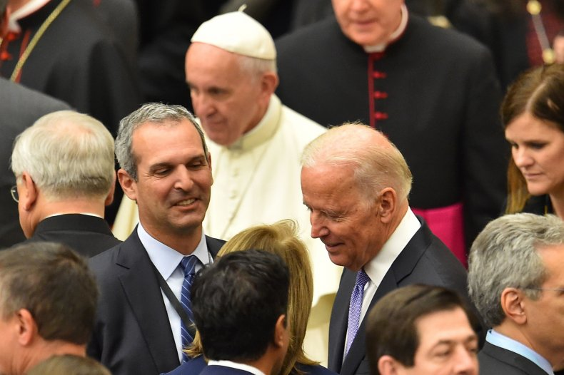 President Biden and Pope Francis
